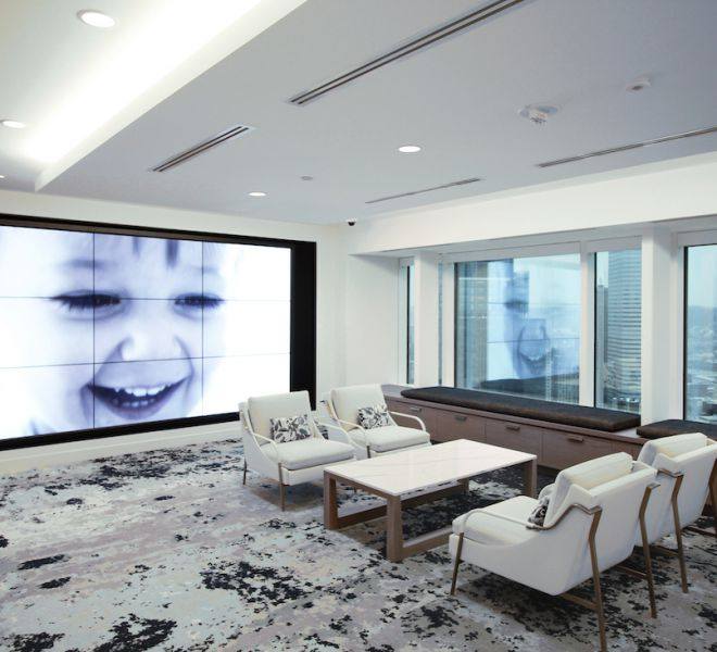 Healthcare Reception Area Technology